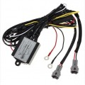 Add On DRL Daytime Running Light Relay Harness Auto Car Control On/Off Switch 12V 16W Head Light Side Lamp Controller