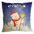 Sankuwen Home Decoration Pillowcase Christmas Pillow Cushion Cover (Snowman)