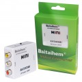 Baitaihem Mini Video Signal Converter Composite RCA PAL NTSC CVBS AV to HDMI Converter For VCR TV DVD 720P 1080P