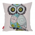 Sankuwen Home Decoration Pillowcase Christmas Pillow Cushion Cover (Owl)